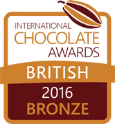 International Chocolate Awards 2016 prize logo final